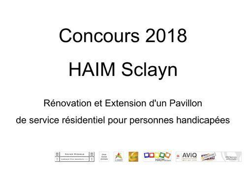HAIM Sclayn Concours