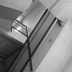Ecole Ste Begge Andenne Rehausse de la cage d'escaliers